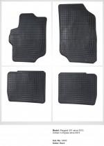 Резиновые коврики в салон Peugeot 301 (2012-)