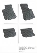 Резиновые коврики в салон SKODA Octavia I (1997-2010)