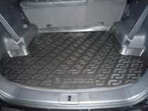 Коврики в багажник Chevrolet Captiva (06-) - пластик