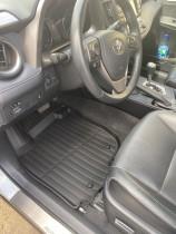 Резиновые коврики в салон Тойота Рав 4 2013-/16- СРТК