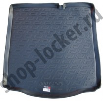 L.Locker Коврики в багажник Citroen C-Elysee sd (12-) - пластик