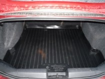 L.Locker Коврики в багажник Ford Focus hb (98-04) - пластик