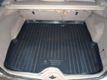 L.Locker Коврики в багажник Ford Focus un (98-04) - пластик