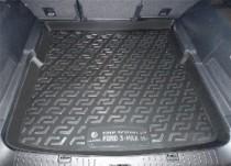 L.Locker Коврики в багажник Ford S-Max minivan (07-) - пластик