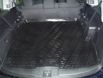 L.Locker Коврики в багажник Honda Pilot (08-) 5-местная - пластик