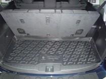L.Locker Коврики в багажник Honda Pilot (08-) 7-местная - пластик