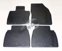 Коврики в салон Honda Civic (2006-2011), (2012-) HB резиновые Gumarny Zubri