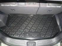 Коврики в багажник Kia Soul (2009-) (верх) - пластик