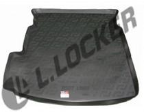 L.Locker Коврики в багажник MG 6 s/n (12-) - пластик