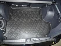 Коврики в багажник Mitsubishi Outlander XL сабвуфер (07-) - пластик L.Locker
