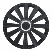 4 RACING Spyder Pro black Колпаки для колес R15 (Комплект 4 шт.)