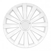 4 RACING Spyder Pro white Колпаки для колес R15 (Комплект 4 шт.)