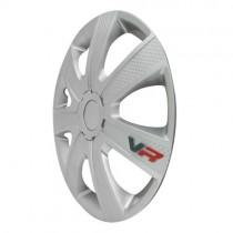 4 RACING VR Carbon Колпаки для колес R13 (Комплект 4 шт.)