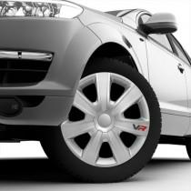 4 RACING VR Carbon Колпаки для колес R14 (Комплект 4 шт.)