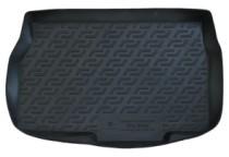 Коврики в багажник Opel Astra H hb 3dr./5dr. (04-) - пластик