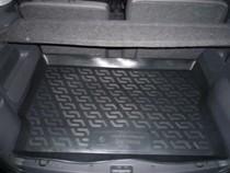 L.Locker Коврики в багажник Opel Meriva А hb (02-) - пластик