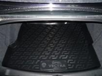 L.Locker Коврики в багажник Opel Vectra С sd (02-) - пластик