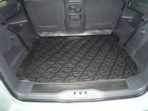 Коврики в багажник Opel Zafira B (05-) - пластик L.Locker