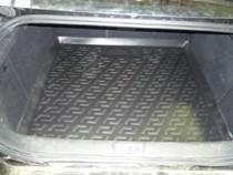 L.Locker Коврики в багажник Peugeot 407 sd (04-) - пластик