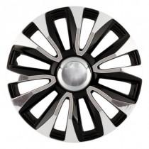 Max 6 Avalone Chrome Black Колпаки для колес R13 (Комплект 4 шт.)