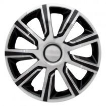 Max 6 Veron Chrome Black Колпаки для колес R15 (Комплект 4 шт.)