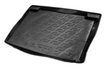 Коврики в багажник Seat Ibiza IV hb (08-) - пластик