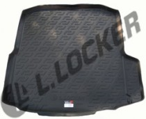 L.Locker Коврики в багажник Skoda Octavia A-7 III liftback (13-) - пластик