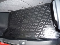 Коврики в багажник Suzuki SX 4 hb (10-) - пластик