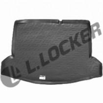 L.Locker Коврики в багажник Suzuki SX4 нижний (13-) - пластик