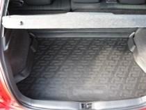 Коврики в багажник Toyota Auris hb (06-) - пластик L.Locker