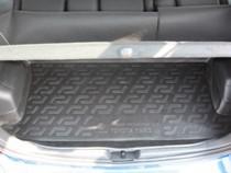 L.Locker Коврики в багажник Toyota Yaris (06-) - пластик