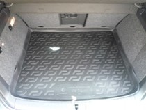 L.Locker Коврики в багажник Volkswagen Tiguan (07-) - пластик