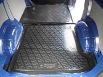 Коврики в багажник Volrswagen Transporter V задняя часть (02-) - пластик