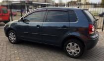 Ветровики Volkswagen Polo IV 5d 2004-2009