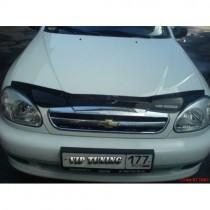 Vip tuning Дефлекторы капота Chevrolet Lanos с 2005 г.в.