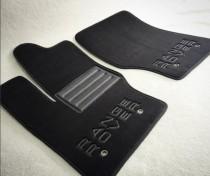Vip tuning Ворсовые коврики в салон Audi A-6 2010 г> new АКП седан без перемычки