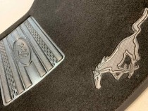Ворсовые коврики в салон Ford Mustang 2014- Vip tuning