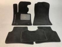 Ворсовые коврики в салон Kia Cerato 2004-2008г МКП седан (увеличенный размер) Vip tuning