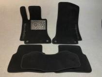 Ворсовые коврики в салон Mercedes W212 2009г> АКП седан Vip tuning