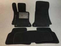 Ворсовые коврики в салон Mercedes W219 2004г> АКП 4дв. coupe (CLS-350) Vip tuning