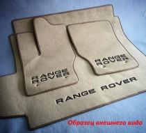 Vip tuning Ворсовые коврики в салон BMW F10 2010> без перемычки, по рез. коврам