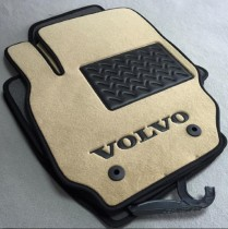 Ворсовые коврики в салон Volvo XC-70 2007-2013г (по оригиналу)