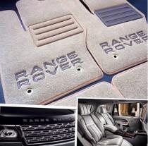 Ворсовые коврики в салон Land Rover Freelander 2000г> МКП