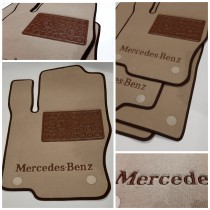 Ворсовые коврики в салон Mercedes W460 G230GE/300GD 1979-1992г. Vip tuning