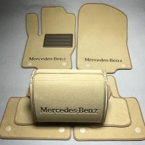 Ворсовые коврики в салон Mercedes X164 GL350/450/500 2006-2012г. (2 ряда)