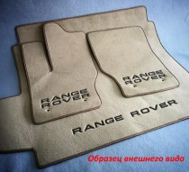 Vip tuning Ворсовые коврики в салон Jeep Grand Cherokee 2010г> АКП (пол. привод) (WL) IV поколение