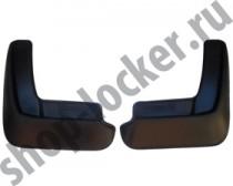 L.Locker Брызговики задние Mazda 3 sedan (13-)