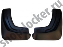 L.Locker Брызговики задние Mazda 6 sedan (12-)