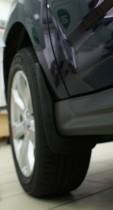 L.Locker Брызговики передние Mitsubishi Outlander XL (07-) с порогами