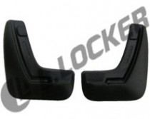 L.Locker Брызговики задние Opel Astra H sedan (07-)